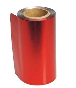 Strähnenfolie, rot   (Grundpreis m/0,08 €)