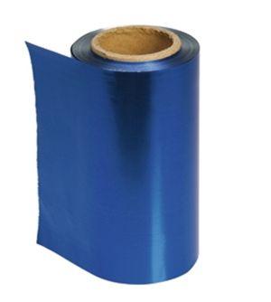 Strähnenfolie, blau   (Grundpreis m/0,08 €)