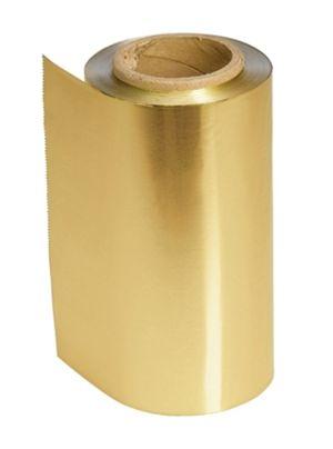 Strähnenfolie, gold  (Grundpreis m/0,08 €)