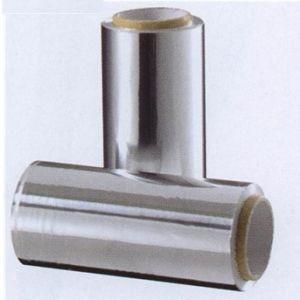 Strähnenfolie, 2 Rl. à 50 m, silber 12 cm breit  (Grundpreis m/0,10 €)