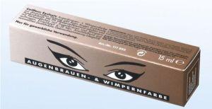 Augenbrauen- u. Wimpernfarbe - 15 ml - naturbraun