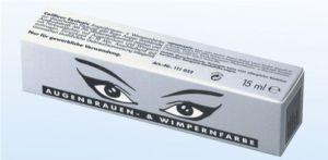 Augenbrauen- u. Wimpernfarbe - 15 ml - graphit