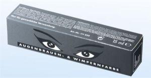 Augenbrauen- u. Wimpernfarbe - 15 ml - tiefschwarz