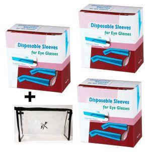 Brillenbügelschutz 3 x 200 Stck. - Multipack
