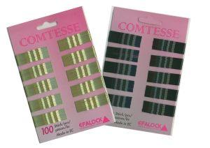Haarklemmen Comtesse 5 cm - Farbe nach Wahl