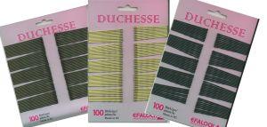 Haarklemmen Duchesse 5 cm  - Farbe nach Wahl
