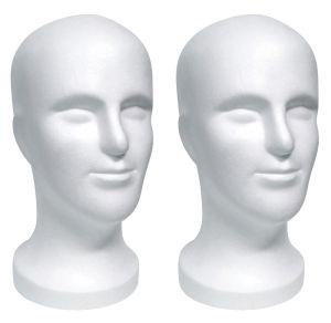 Styroporkopf LEON - männlich 30,5 cm - AKTIONSPREIS