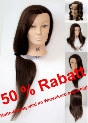 Frisier- u. Haarschneide-Übungskopf 100 % Synthetik - SUPERPREIS!!!